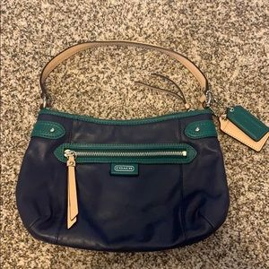 Coach Leather Evening bag